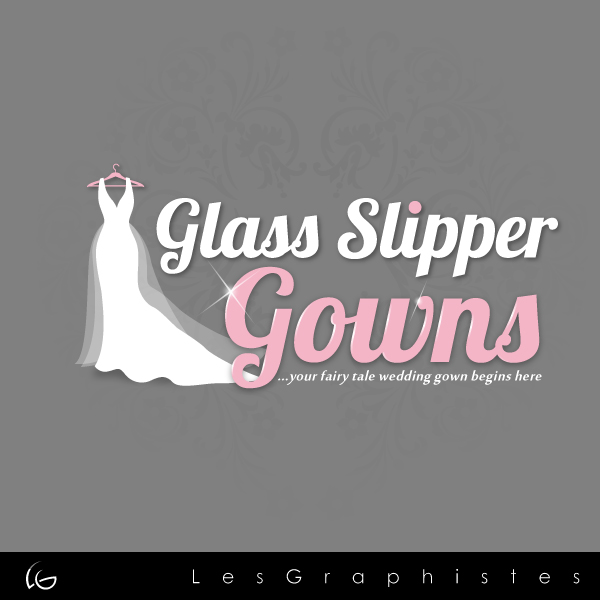 Logo Design by Les-Graphistes - Entry No. 47 in the Logo Design Contest New Logo Design for Glass Slipper Gowns.