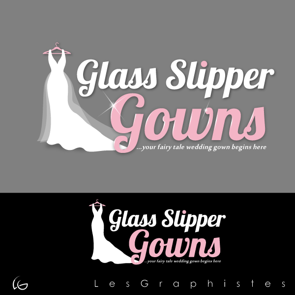 Logo Design by Les-Graphistes - Entry No. 48 in the Logo Design Contest New Logo Design for Glass Slipper Gowns.