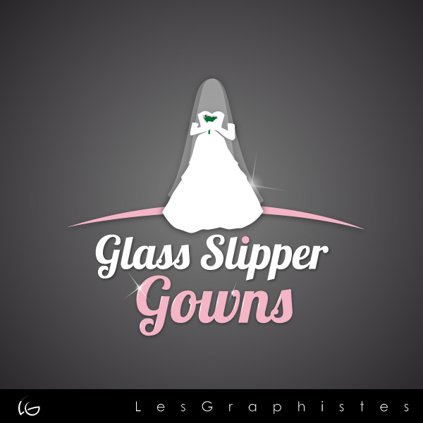 Logo Design by Les-Graphistes - Entry No. 49 in the Logo Design Contest New Logo Design for Glass Slipper Gowns.