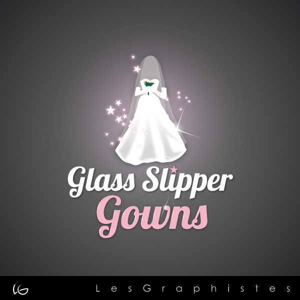 Logo Design by Les-Graphistes - Entry No. 50 in the Logo Design Contest New Logo Design for Glass Slipper Gowns.