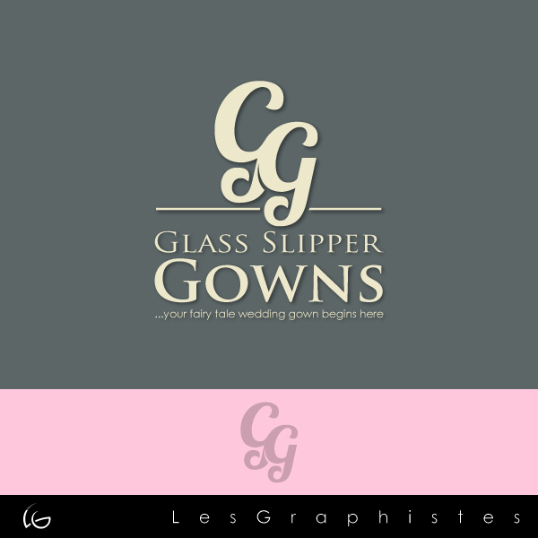 Logo Design by Les-Graphistes - Entry No. 51 in the Logo Design Contest New Logo Design for Glass Slipper Gowns.