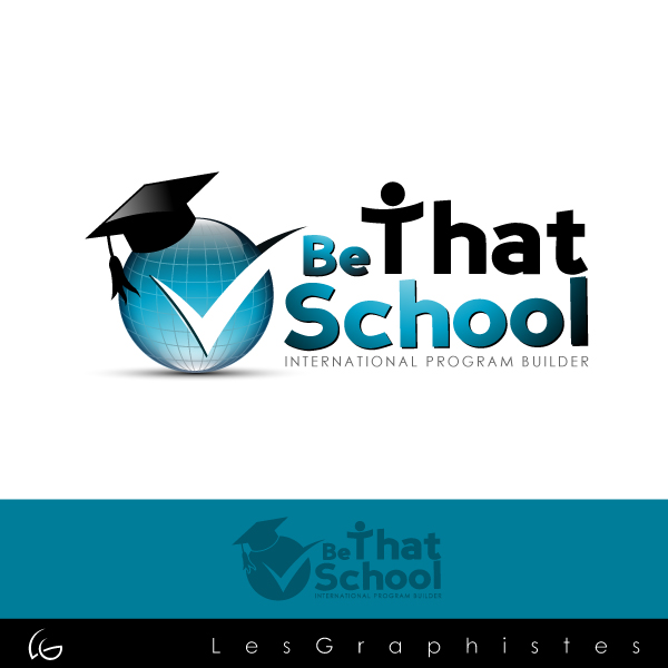 "Logo Design by Les-Graphistes - Entry No. 18 in the Logo Design Contest Fun Logo Design for ""Be That School""."