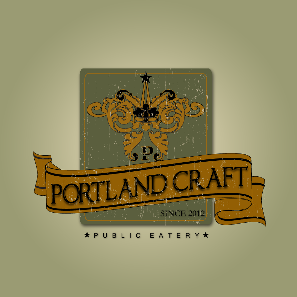 Logo Design by moonflower - Entry No. 41 in the Logo Design Contest New Logo Design for Portland Craft Public Eatery.
