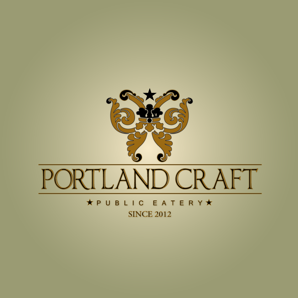Logo Design by moonflower - Entry No. 42 in the Logo Design Contest New Logo Design for Portland Craft Public Eatery.