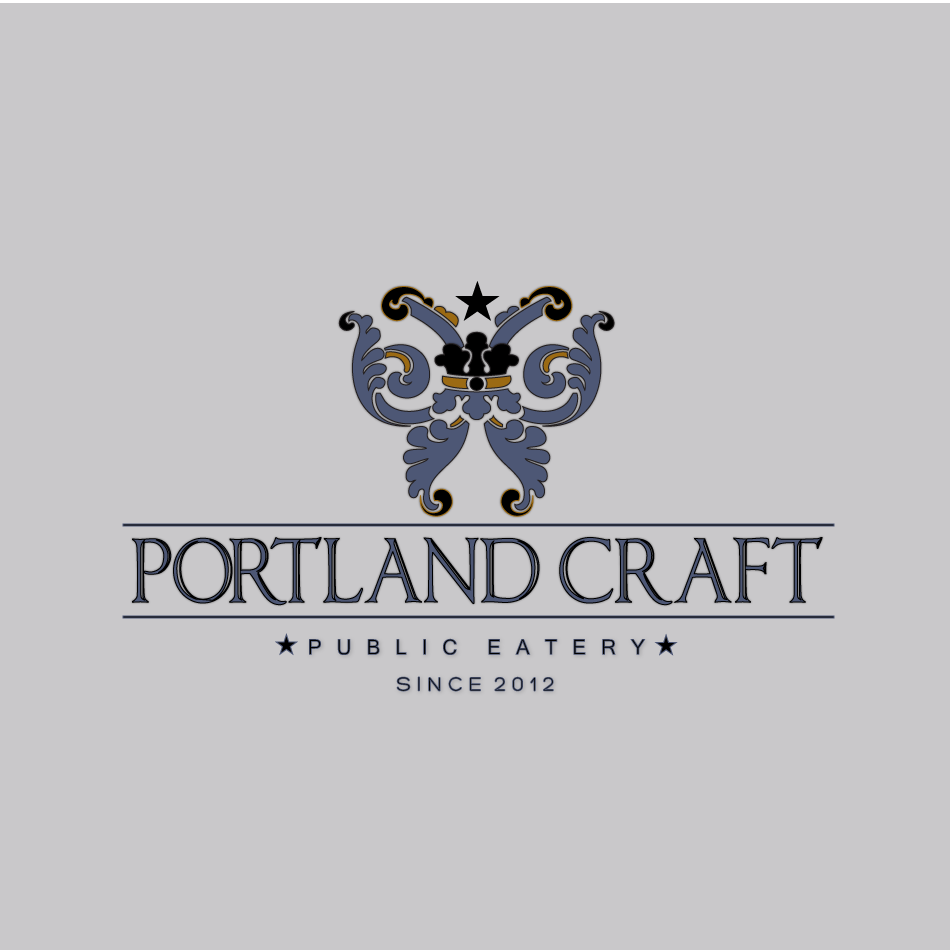 Logo Design by moonflower - Entry No. 43 in the Logo Design Contest New Logo Design for Portland Craft Public Eatery.