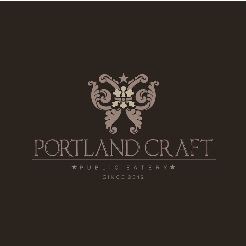 Logo Design by moonflower - Entry No. 44 in the Logo Design Contest New Logo Design for Portland Craft Public Eatery.