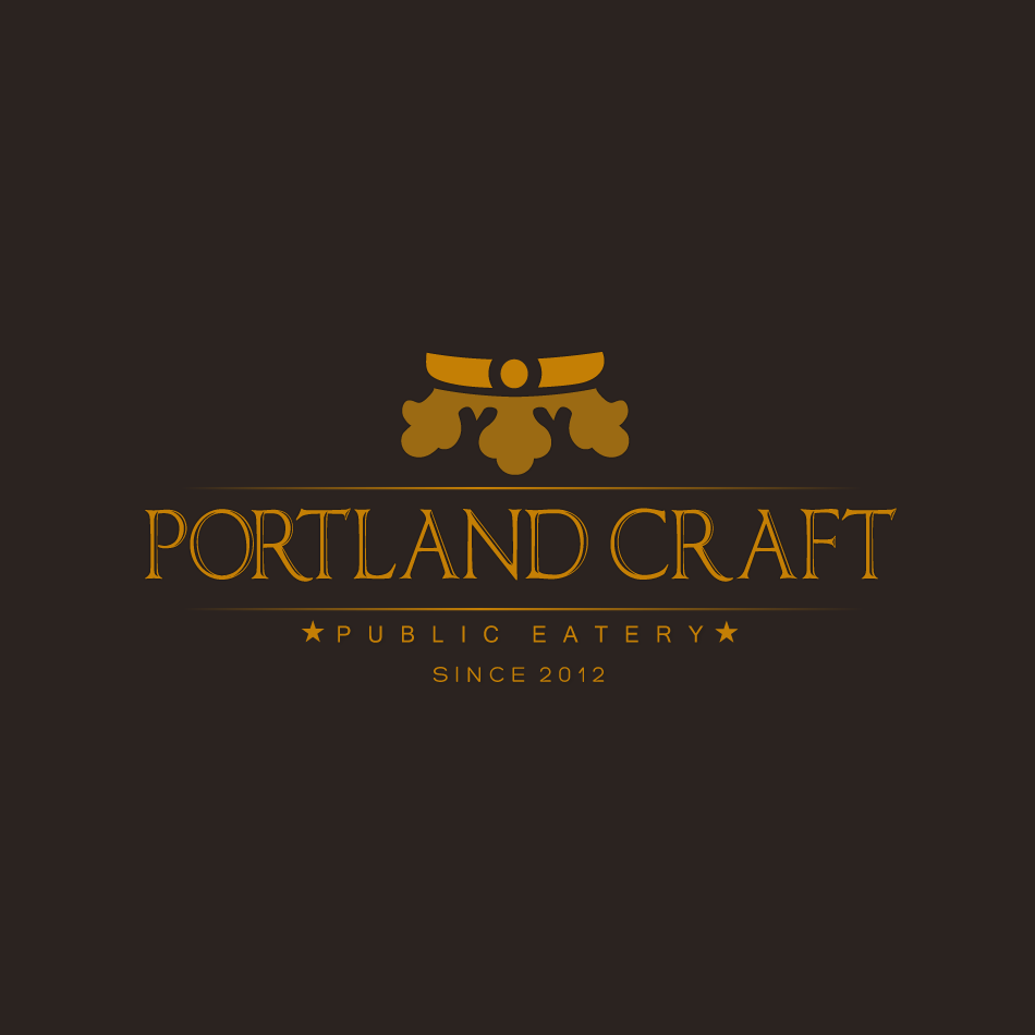 Logo Design by moonflower - Entry No. 45 in the Logo Design Contest New Logo Design for Portland Craft Public Eatery.