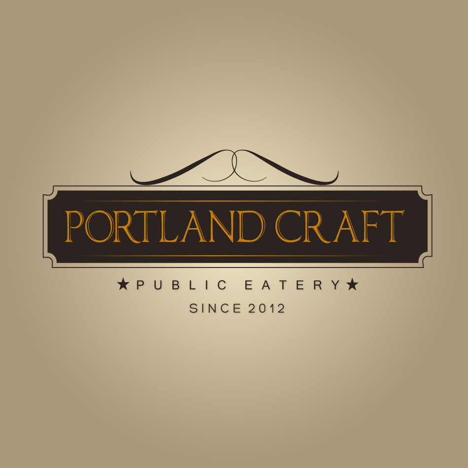 Logo Design by moonflower - Entry No. 46 in the Logo Design Contest New Logo Design for Portland Craft Public Eatery.
