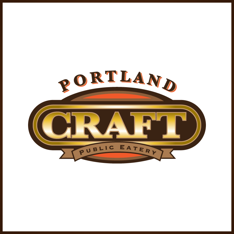 Logo Design by Number-Eight-Design - Entry No. 48 in the Logo Design Contest New Logo Design for Portland Craft Public Eatery.