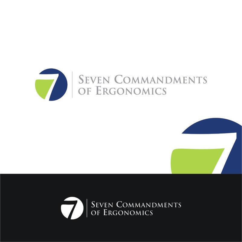 Logo Design by Private User - Entry No. 1 in the Logo Design Contest Logo Design for Seven Commandments of Ergonomics.