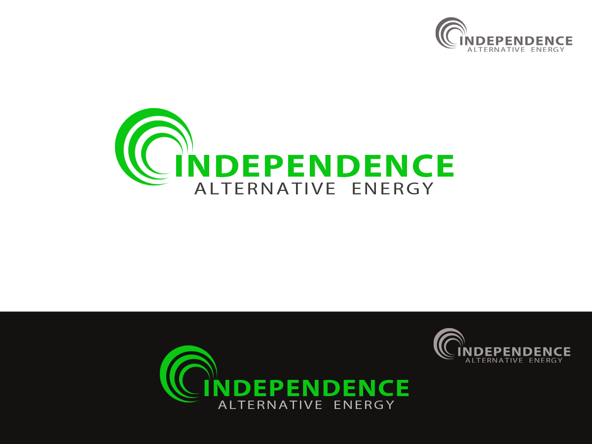 Logo Design by golden-hand - Entry No. 144 in the Logo Design Contest Logo Design Needed for Exciting New Alternative Energy Company.
