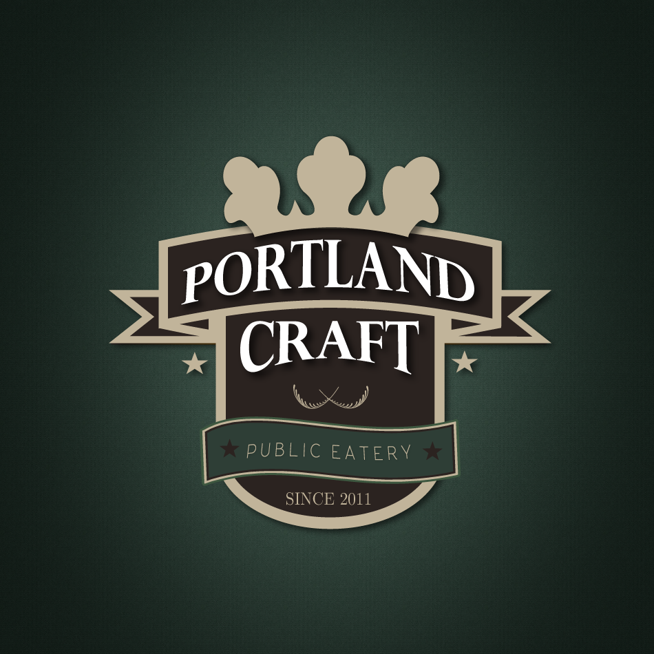 Logo Design by moonflower - Entry No. 52 in the Logo Design Contest New Logo Design for Portland Craft Public Eatery.