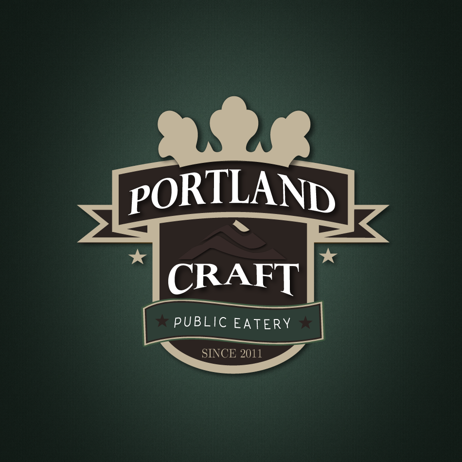 Logo Design by moonflower - Entry No. 54 in the Logo Design Contest New Logo Design for Portland Craft Public Eatery.