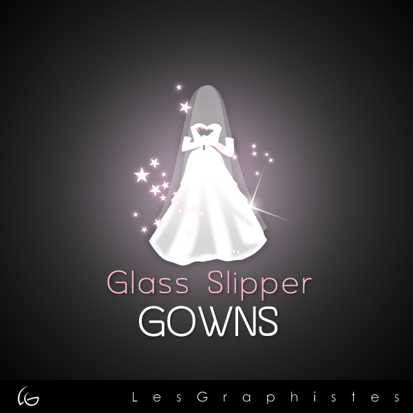 Logo Design by Les-Graphistes - Entry No. 65 in the Logo Design Contest New Logo Design for Glass Slipper Gowns.