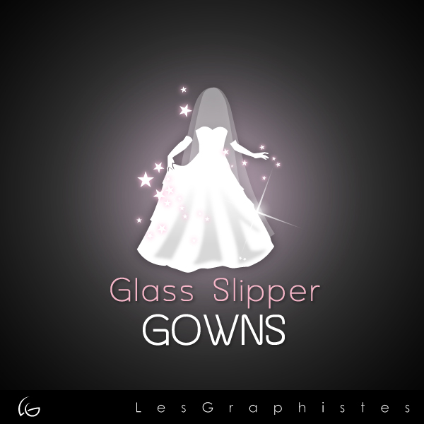 Logo Design by Les-Graphistes - Entry No. 66 in the Logo Design Contest New Logo Design for Glass Slipper Gowns.