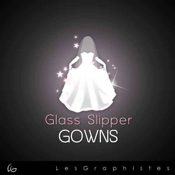 Logo Design by Les-Graphistes - Entry No. 68 in the Logo Design Contest New Logo Design for Glass Slipper Gowns.