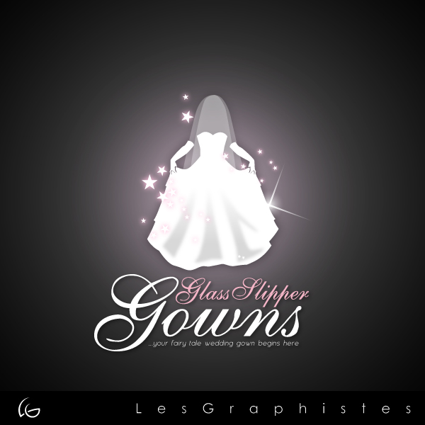 Logo Design by Les-Graphistes - Entry No. 69 in the Logo Design Contest New Logo Design for Glass Slipper Gowns.
