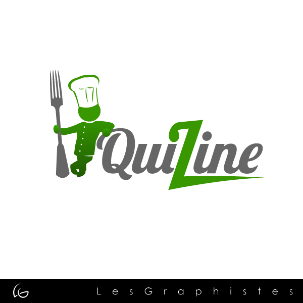 Logo Design by Les-Graphistes - Entry No. 2 in the Logo Design Contest Quizine Logo Design.