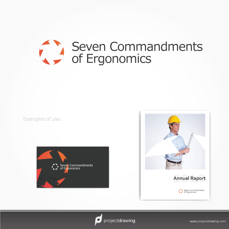 Logo Design by projectd - Entry No. 6 in the Logo Design Contest Logo Design for Seven Commandments of Ergonomics.