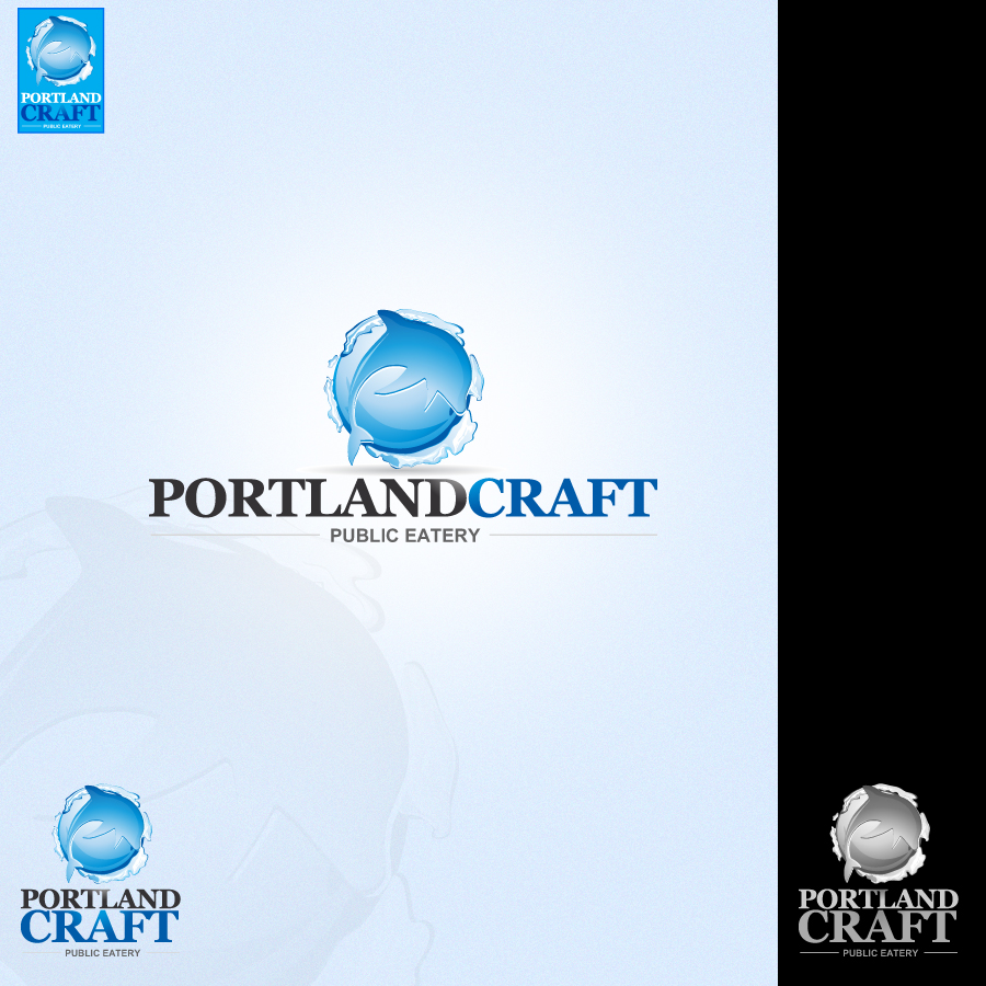 Logo Design by rockpinoy - Entry No. 55 in the Logo Design Contest New Logo Design for Portland Craft Public Eatery.