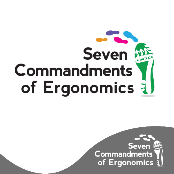 Logo Design by storm - Entry No. 7 in the Logo Design Contest Logo Design for Seven Commandments of Ergonomics.