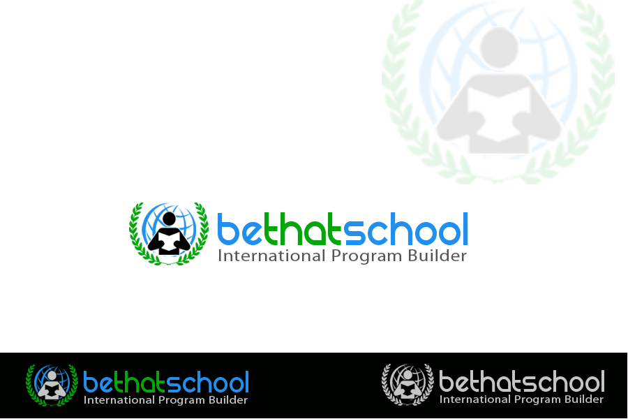 "Logo Design by Golden_Hand - Entry No. 46 in the Logo Design Contest Fun Logo Design for ""Be That School""."