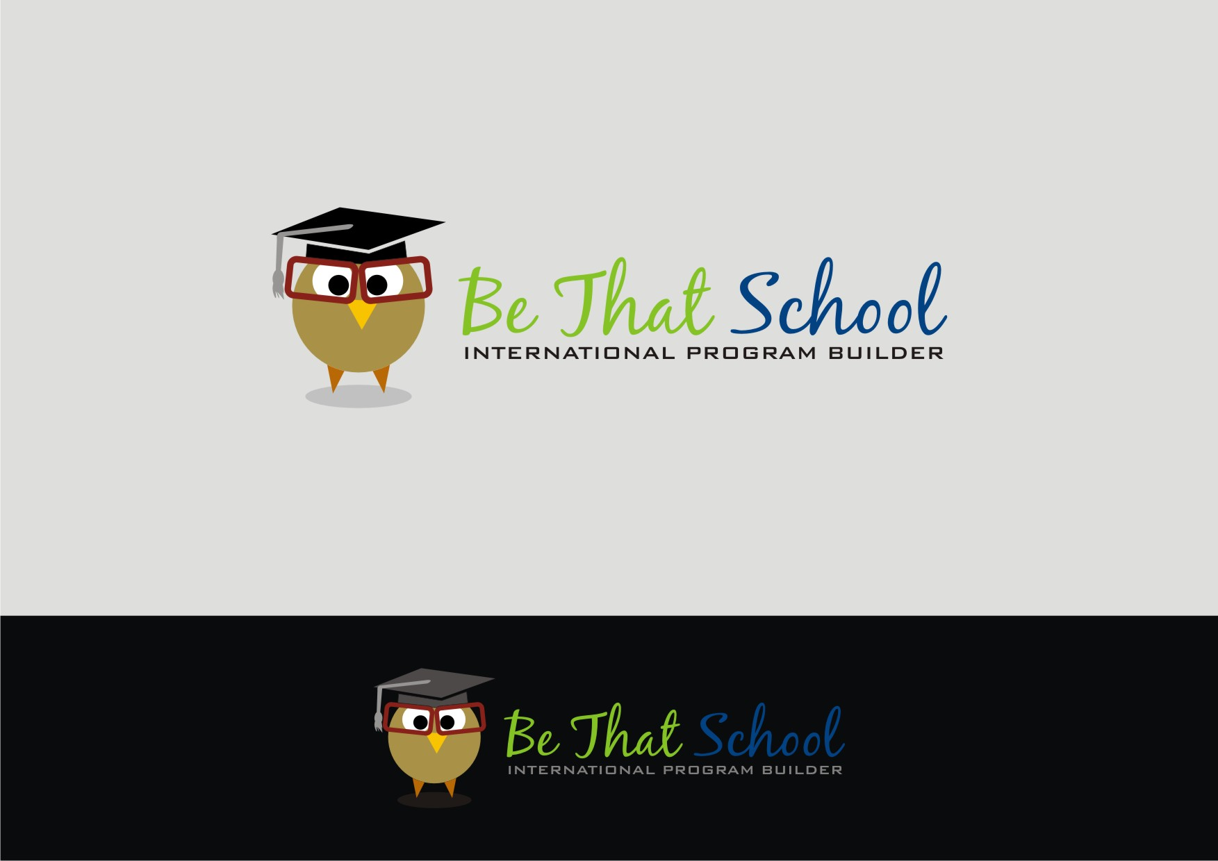 "Logo Design by Private User - Entry No. 53 in the Logo Design Contest Fun Logo Design for ""Be That School""."