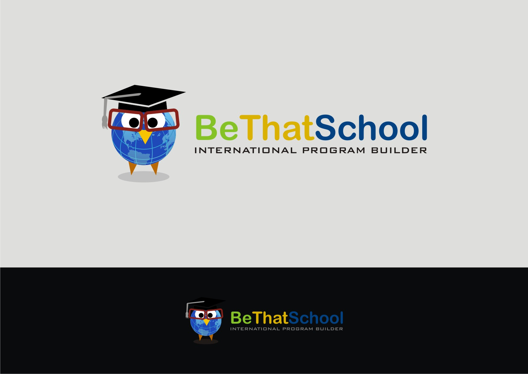 "Logo Design by Private User - Entry No. 55 in the Logo Design Contest Fun Logo Design for ""Be That School""."