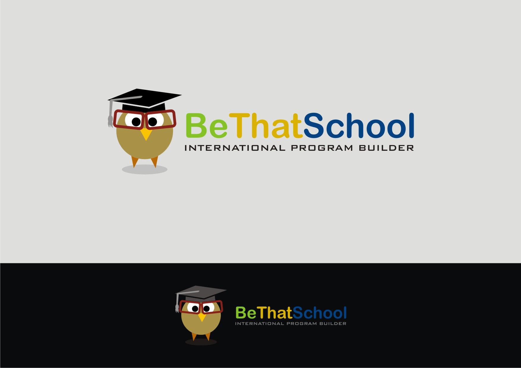 "Logo Design by Private User - Entry No. 56 in the Logo Design Contest Fun Logo Design for ""Be That School""."