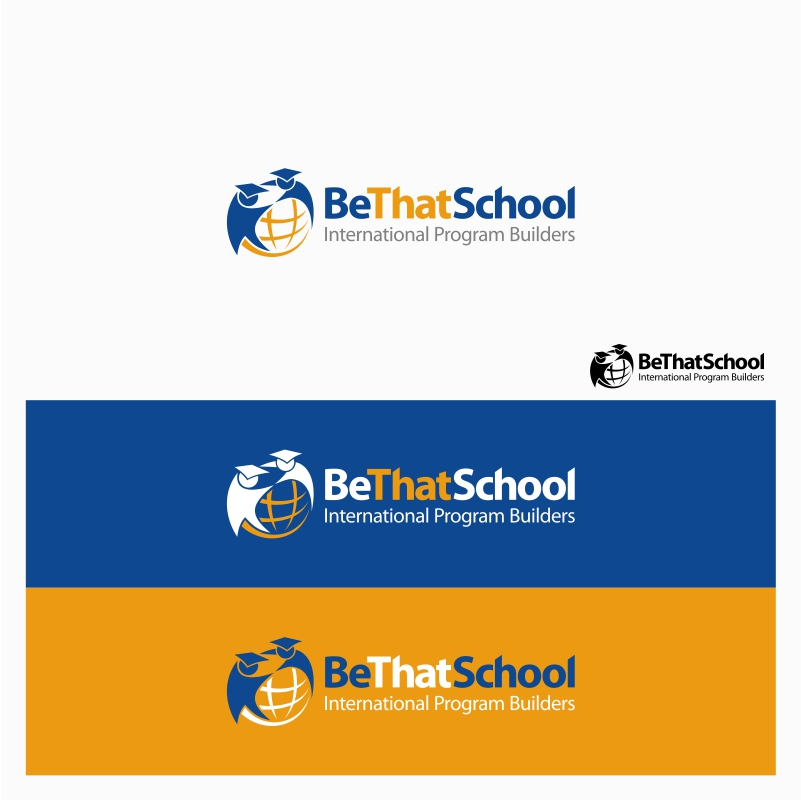 "Logo Design by Private User - Entry No. 57 in the Logo Design Contest Fun Logo Design for ""Be That School""."