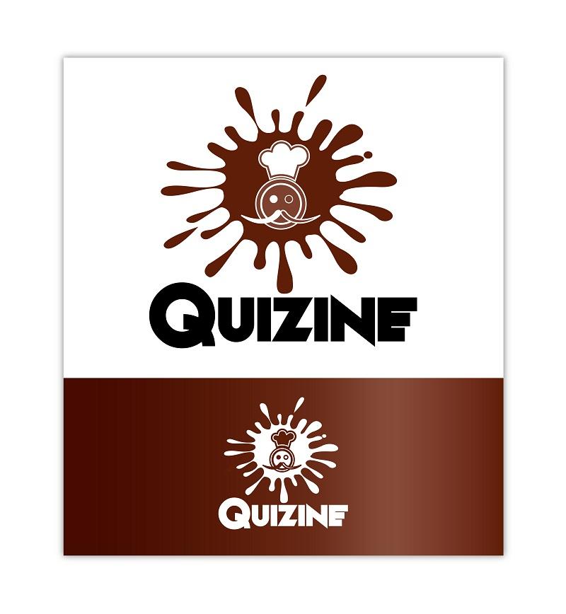 Logo Design by kowreck - Entry No. 4 in the Logo Design Contest Quizine Logo Design.