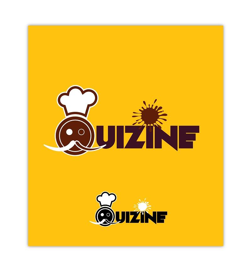 Logo Design by kowreck - Entry No. 5 in the Logo Design Contest Quizine Logo Design.