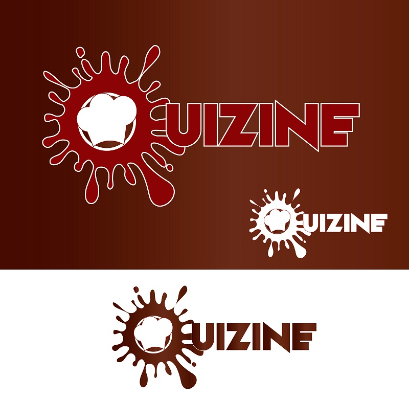 Logo Design by kowreck - Entry No. 6 in the Logo Design Contest Quizine Logo Design.