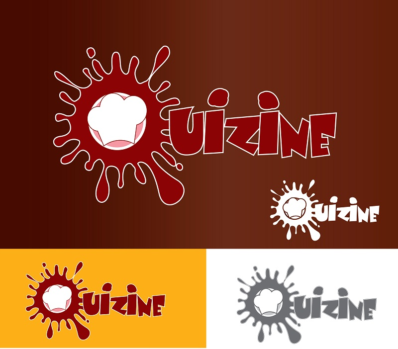 Logo Design by kowreck - Entry No. 7 in the Logo Design Contest Quizine Logo Design.