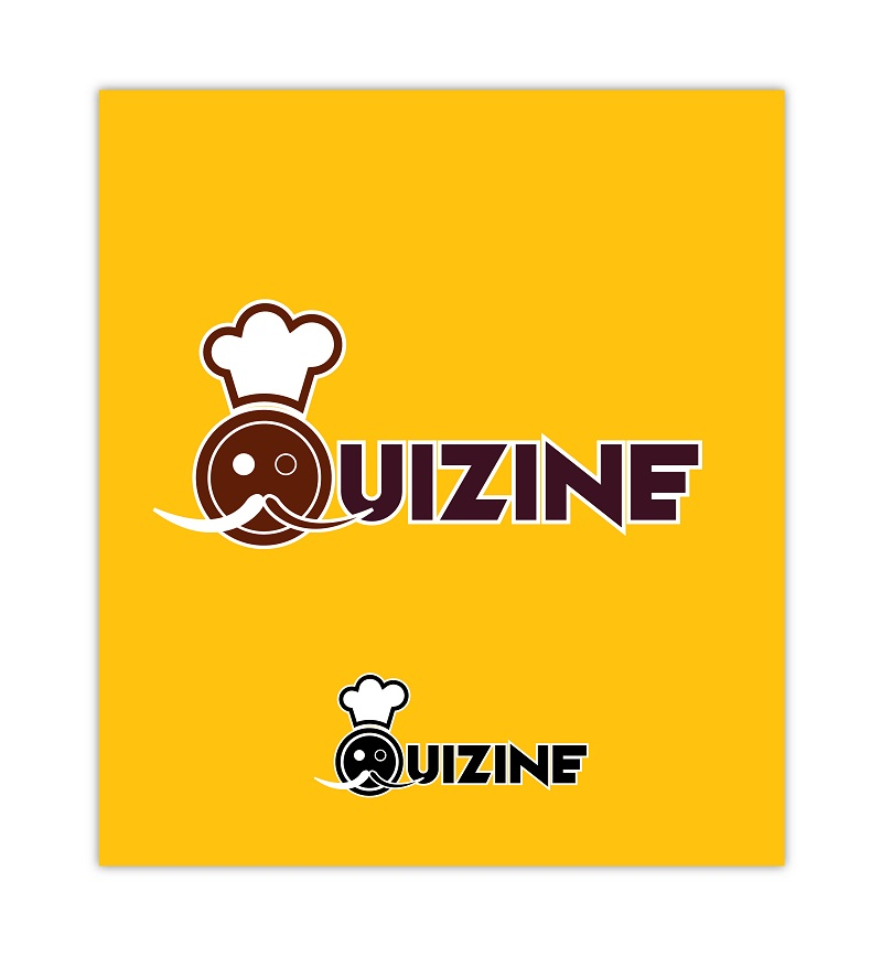 Logo Design by kowreck - Entry No. 8 in the Logo Design Contest Quizine Logo Design.