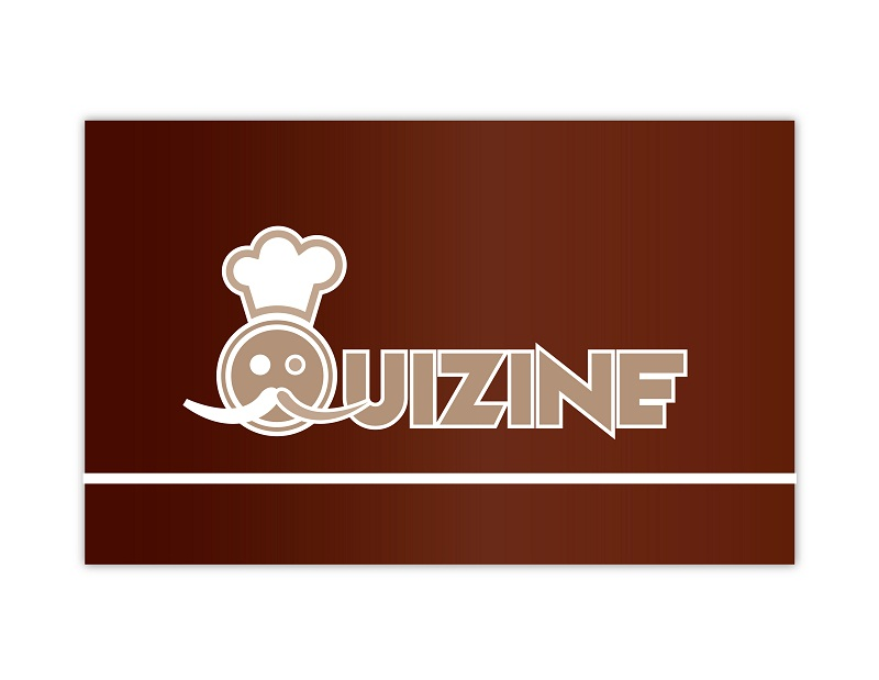 Logo Design by kowreck - Entry No. 9 in the Logo Design Contest Quizine Logo Design.
