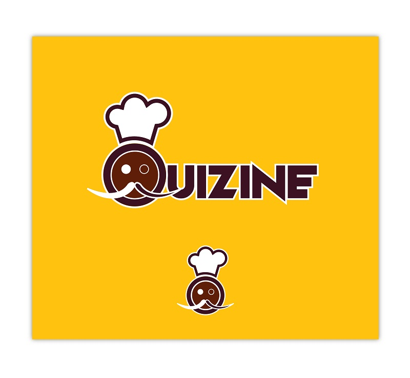 Logo Design by kowreck - Entry No. 10 in the Logo Design Contest Quizine Logo Design.