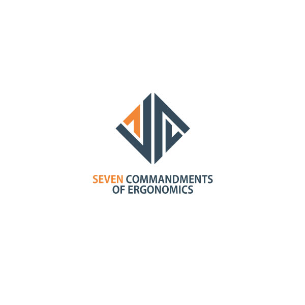 Logo Design by Pandu Wijaya - Entry No. 13 in the Logo Design Contest Logo Design for Seven Commandments of Ergonomics.