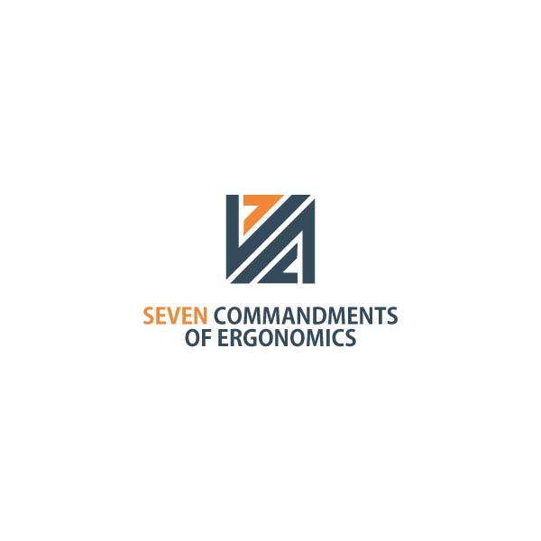 Logo Design by Pandu Wijaya - Entry No. 16 in the Logo Design Contest Logo Design for Seven Commandments of Ergonomics.