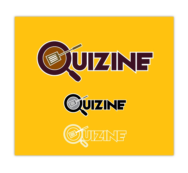 Logo Design by kowreck - Entry No. 12 in the Logo Design Contest Quizine Logo Design.
