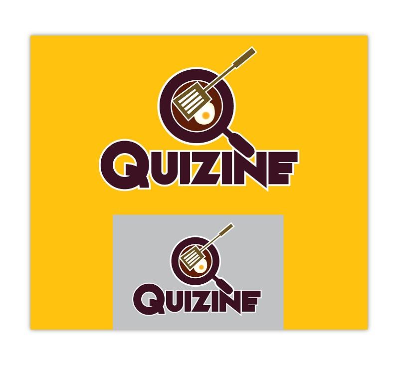 Logo Design by kowreck - Entry No. 13 in the Logo Design Contest Quizine Logo Design.