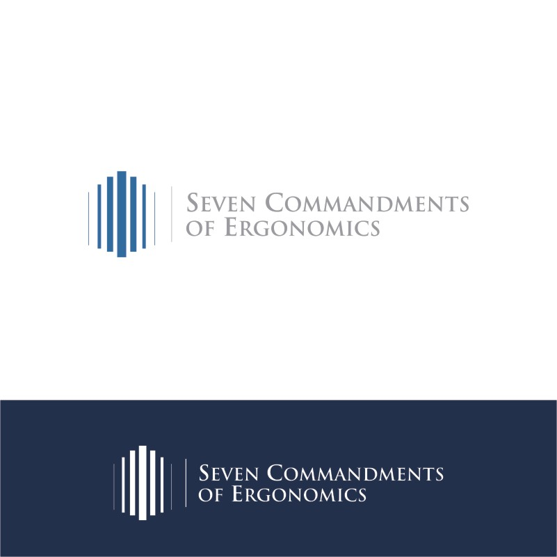 Logo Design by Private User - Entry No. 18 in the Logo Design Contest Logo Design for Seven Commandments of Ergonomics.