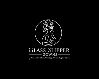 Logo Design by designhouse - Entry No. 73 in the Logo Design Contest New Logo Design for Glass Slipper Gowns.