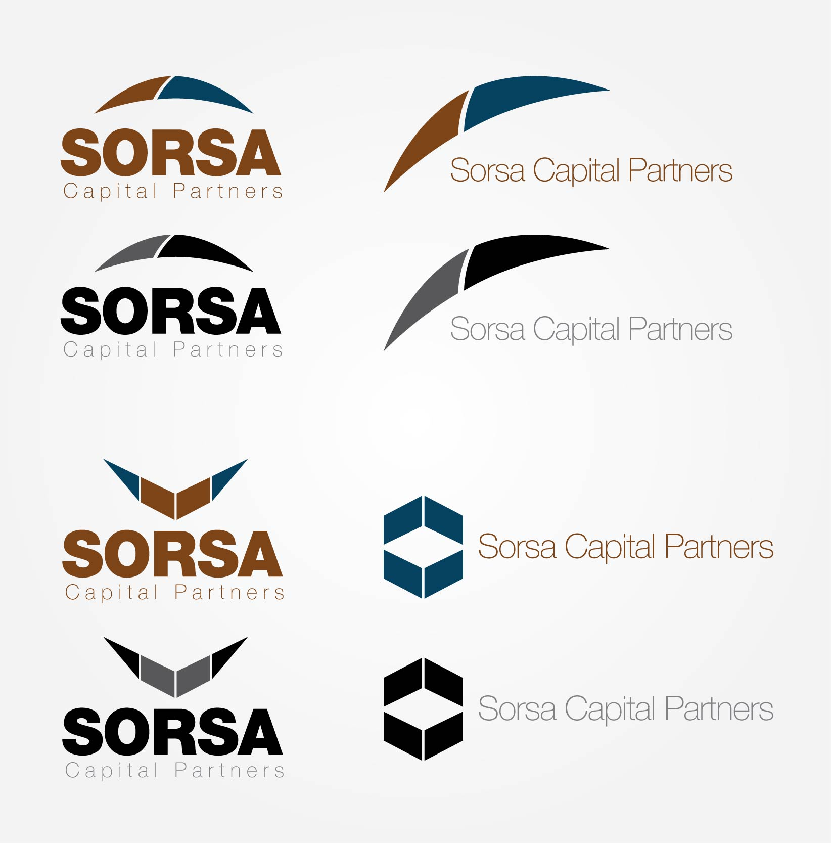 Logo Design by Maduka Fernando - Entry No. 36 in the Logo Design Contest Sorsa Capital Partners Logo Design.