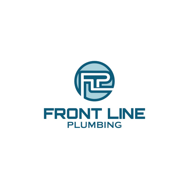 Logo Design by Private User - Entry No. 3 in the Logo Design Contest Fun Logo Design for Front Line Plumbing.