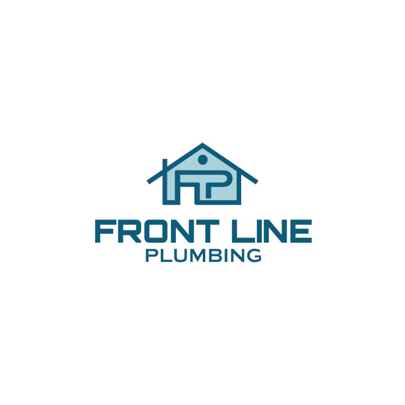 Logo Design by Private User - Entry No. 4 in the Logo Design Contest Fun Logo Design for Front Line Plumbing.
