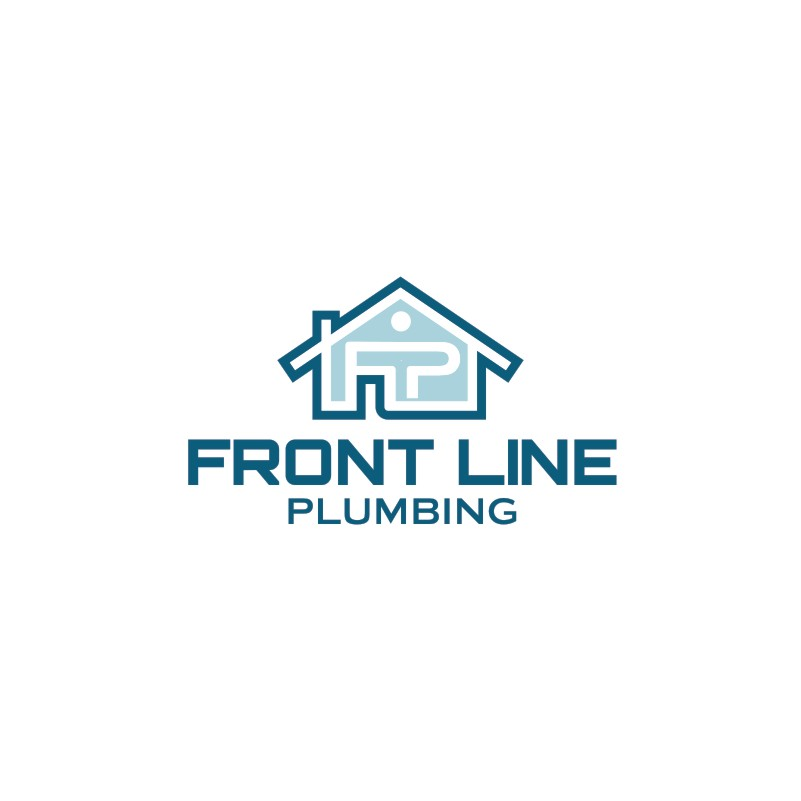 Logo Design by Private User - Entry No. 5 in the Logo Design Contest Fun Logo Design for Front Line Plumbing.