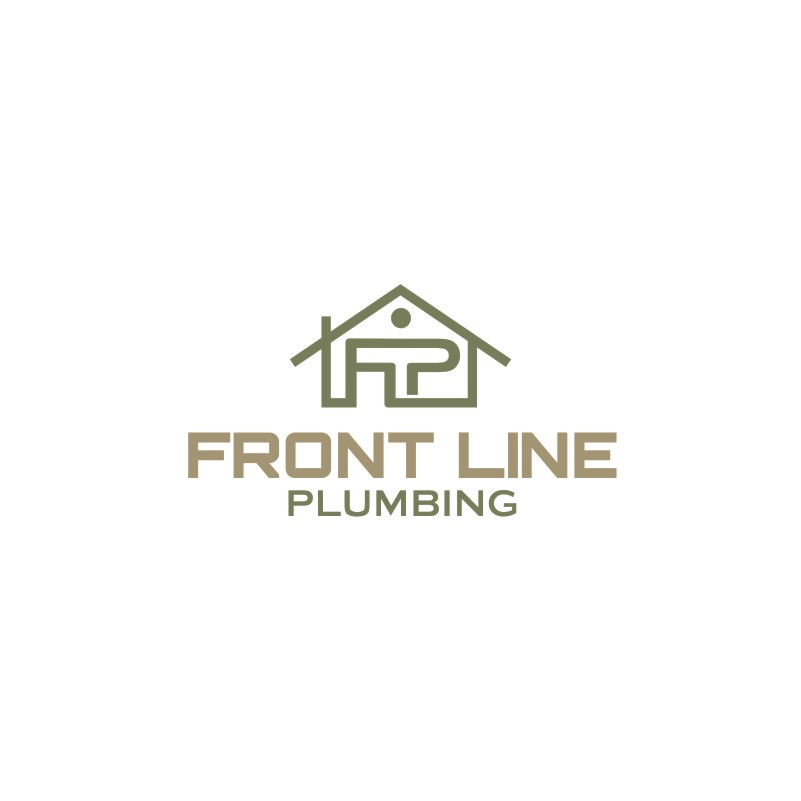 Logo Design by Private User - Entry No. 6 in the Logo Design Contest Fun Logo Design for Front Line Plumbing.