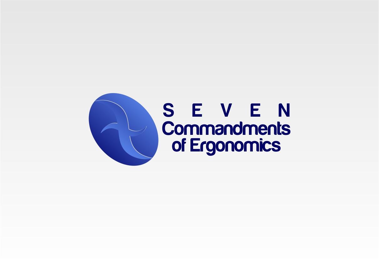 Logo Design by dzoker - Entry No. 19 in the Logo Design Contest Logo Design for Seven Commandments of Ergonomics.