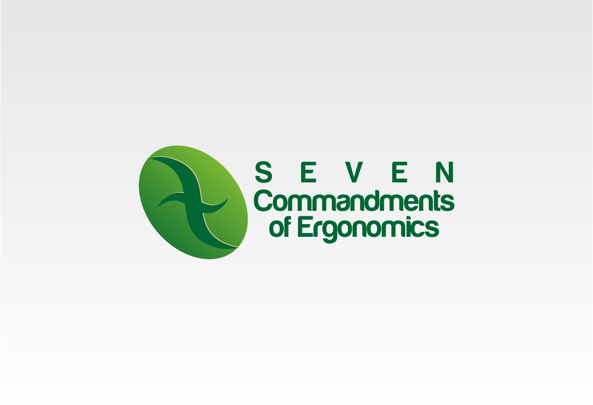 Logo Design by dzoker - Entry No. 20 in the Logo Design Contest Logo Design for Seven Commandments of Ergonomics.